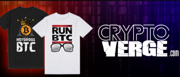 CryptoVerge.com Store Banner
